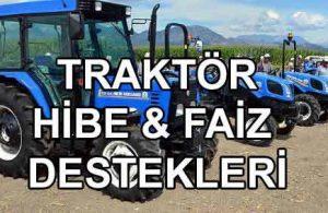 Devlet Destekli Traktör Hibe Kredisi (ORKÖY Ziraat ve TKDK)