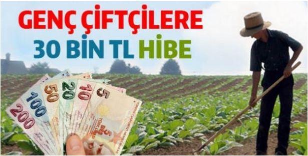 Genç Çiftçilerimize 2018 Yılında Devletten 30 bin TL Hibe