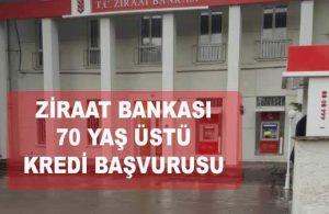 Ziraat Bankası 70 Yaş Üstü Kredi (EKİM 2021 KAMPANYASI)