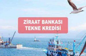 Ziraat Bankası Balıkçılık Teknesi Kredisini FAİZSİZ Veriliyor!