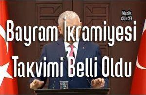 2021 Ziraat Bankası Emekli Bayram İkramiyesi Ödeme Zamanı (1.000 TL)