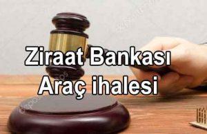 Ziraat Bankası İcralık İkinci El Araç Satış İhalesi (Sahibinden)