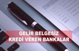 5 En İyi Gelir Belgesiz Kredi Veren Bankalar (Maaş Bordrosuz)