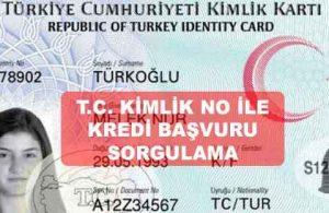 TC Kimlik No İle Kredi Başvurusu Sorgulama (Kredim ONAYLANDI MI?)