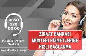 Ziraat Bankası Müşteri Temsilcisine Direk Bağlanma (BEKLEMEK YOK)
