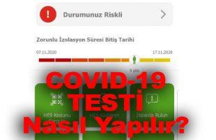 Coronavirüs (COVID-19) Testi Nasıl Yapılır? Son Belirtileri Nedir?