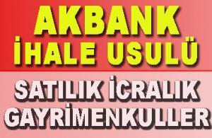 Akbank Satılık Gayrimenkuller 2. El Araçlar (İcralık İhale Usulü)